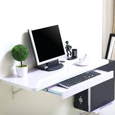 in wall computer desk simple home desktop computer desk simple small apartment new space saving wall