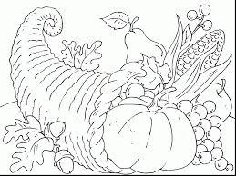 Small Picture Cornucopia Coloring Pages coloringsuitecom