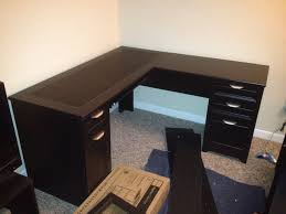 home office l shaped desk. Furniture : Modern L Shaped Computer Desk Glass Pc With Hutch Home Office Inexpensive Desks Cheap White