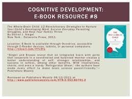 Whole Brain Child Chart Child Development Subject Guide Lis 704 98 Sarah Prokop
