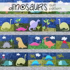 Dinosaur Quilt Patterns
