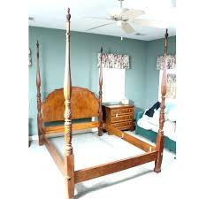 Four Post King Bed Frame Four Poster Bed Frame Bed Posts King 4 ...