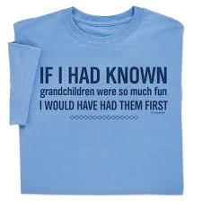 Grandchildren First T Shirt