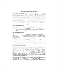 Commercial Lease Agreement Sample Standard Template Agreements House ...
