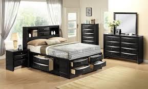 Black Queen Storage Bedroom Set