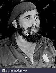 Fidel Castro Cigar Stockfotos und ...