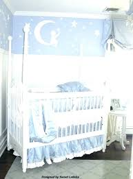 moon and stars nursery bedding baby project decor be