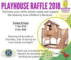 Raffle Event Playhouse Raffle Kearney Childrens Museum