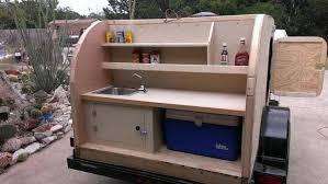 Small Picture Man Without Experience Builds a Small Camping Trailer With His