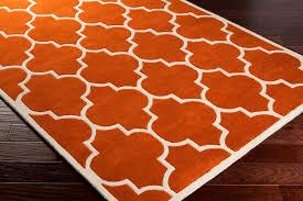 outstanding nice burnt orange area rug with round burnt orange area rug home throughout burnt orange area rugs modern