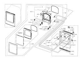 Samsung model dv45h7000ew a2 0000 residential dryer genuine parts from samsung dryer wiring diagram