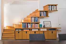 stair step bookcase stairs books shelves bookshelves chair contemporary  staircase of The Best Stair Step Bookcase