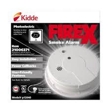 firex direct wire photoelectric smoke alarm at menards® first alert smoke detector wiring harness at Smoke Detector Wiring Harness