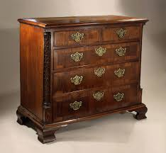 fine george iii irish mahogany parquetry carved chest of drawers ireland c1765 70 m ford creech antiques fine arts memphis tn
