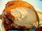 brined mesquite grilled turkey breast
