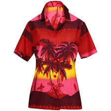 Walmart Shirt Size Chart Women Shirt Top Hawaiian Beach Blouses Tank Casual Aloha Holiday Sport Boho