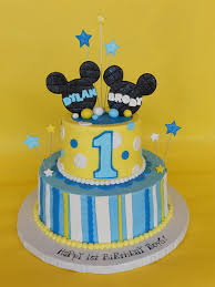 Mickey Mouse First Birthday Cake 84 Classic Style Mickey Mouse