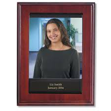 Employee Of The Month Photo Frame Individual Employee Of The Month Photo Plaque Wooden Plaques