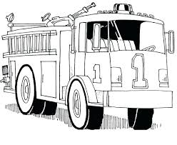 Free Fire Truck Coloring Pages Printable Fire Trucks Coloring Pages