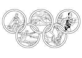 Jeux Olympiques Coloriage Sur Les Jeux Olympiques Coloriages