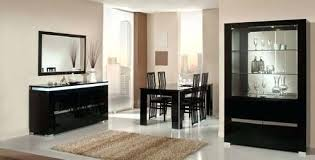 italian lacquer furniture. Black Lacquer Dining Room Set Area And Table Image Italian Furniture P
