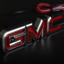 Light Up Car Emblems Gmc Logo Light Up Bigit Karikaturize Com