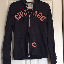 Zip Hoodie Up Chicago Nfl Bears