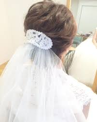 Weddinghairarrange Wedding 挙式スタイルはこんな感じでした アップ