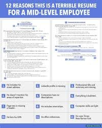 Mid Career Resume 24 reasons this is a terrible CV for a midlevel employee World 1