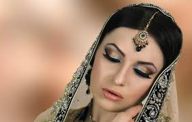 stani bridal reception make up