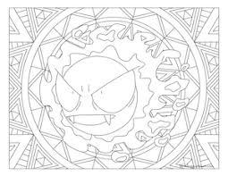 Pin Van Gonda Wouters Op Pokemon Colores En Mandalas