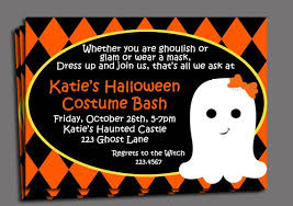 Halloween Kids Costume Party Invitation Printable Or Printed With