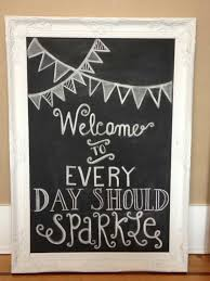 image of decorative framed chalkboards