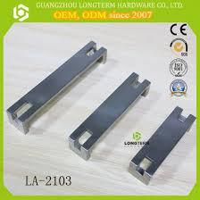 ergonomics zinc alloy kitchen door handle