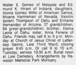 Obituary - part 2 - Newspapers.com