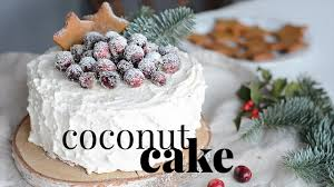 Decorating Coconut Cake Youtube