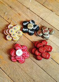 Decorated Bottle Caps