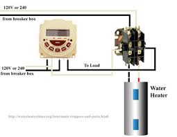 contactors connect modular timer to contactor