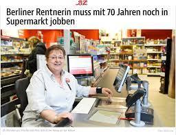 Le pensioni in Germania e la cassiera di Berlino a 70 anni obbligata a  lavorare in un supermercato - Berlino Magazine