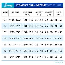 Seavenger Womens Odyssey Full Wetsuit Black