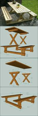 How To Make Picnic Bench