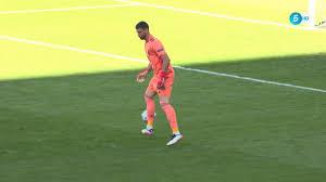 Comical own goal after Unai Simon miscontrols Pedri's pass back!