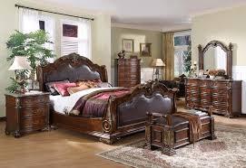 King Sleigh Bed Bedroom Sets Upholstered Headboard King Bedroom Set