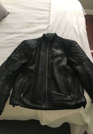 triumph leather motorcycle jacket size large 300 obo