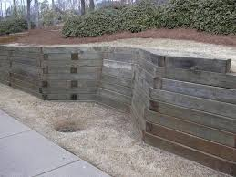 Small Picture railroad tie retaining wall design Google Search Landscape