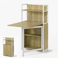 Sobuy Fwt12 N Table Pliante Armoire Avec Table Pliable Intégrée