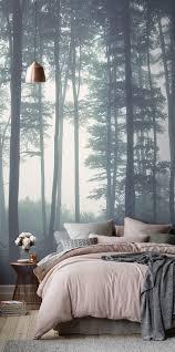 Slapen In Het Bos Huis Slaapkamer Behang Bos Slaapkamer En