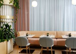 restaurant dining room design. The Essence Of Decoration This Mid-century Restaurant Is Abundant And Indigenous Greenery Fertile Pacific Coast That Combined With Dining Room Design