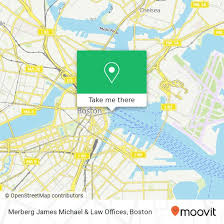 Hingham Tide Chart How To Get To Merberg James Michael Law Offices In Boston