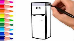 EV EŞYALARI NASIL ÇİZİLİR 3 - Buzdolabı,, Ütü Ve Daha Fazla Çizim Ve Boyama  Videosu - YouTube
